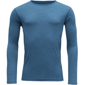 Devold Breeze Shirt Herren blue melange